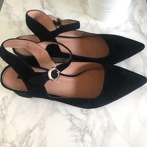 Matiko black low heel